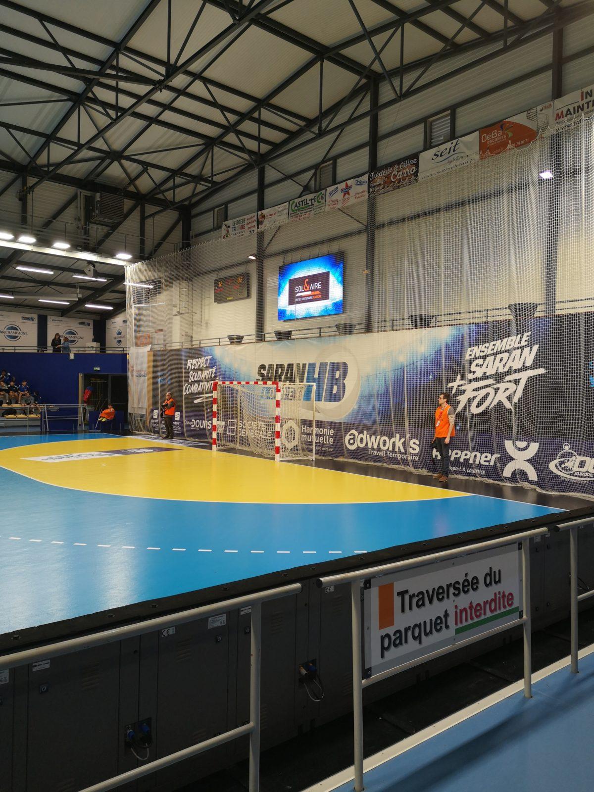 Fin de saison pour le <br> Saran Loiret Handball