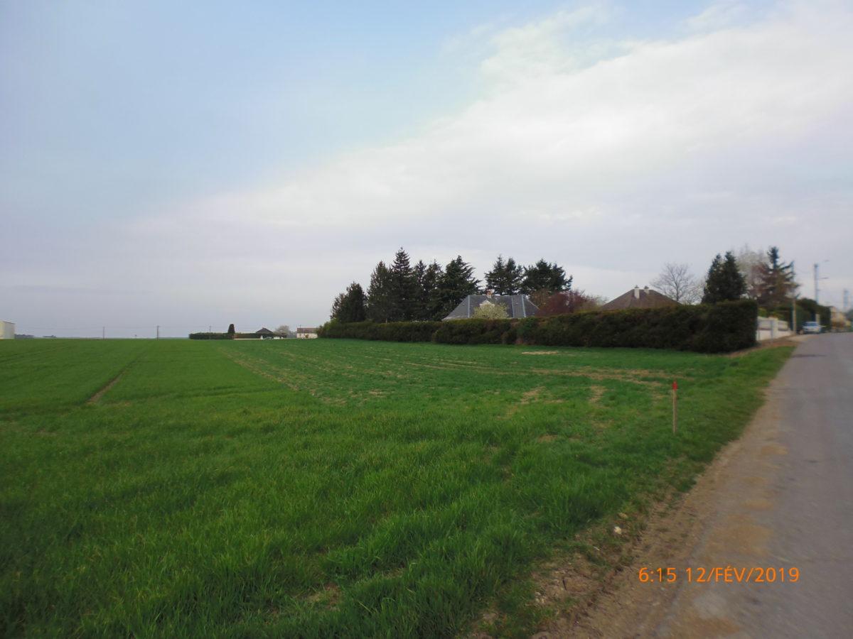 Dépôt du permis d'aménager du Clos de la Plaine <br> à Boulay les Barres