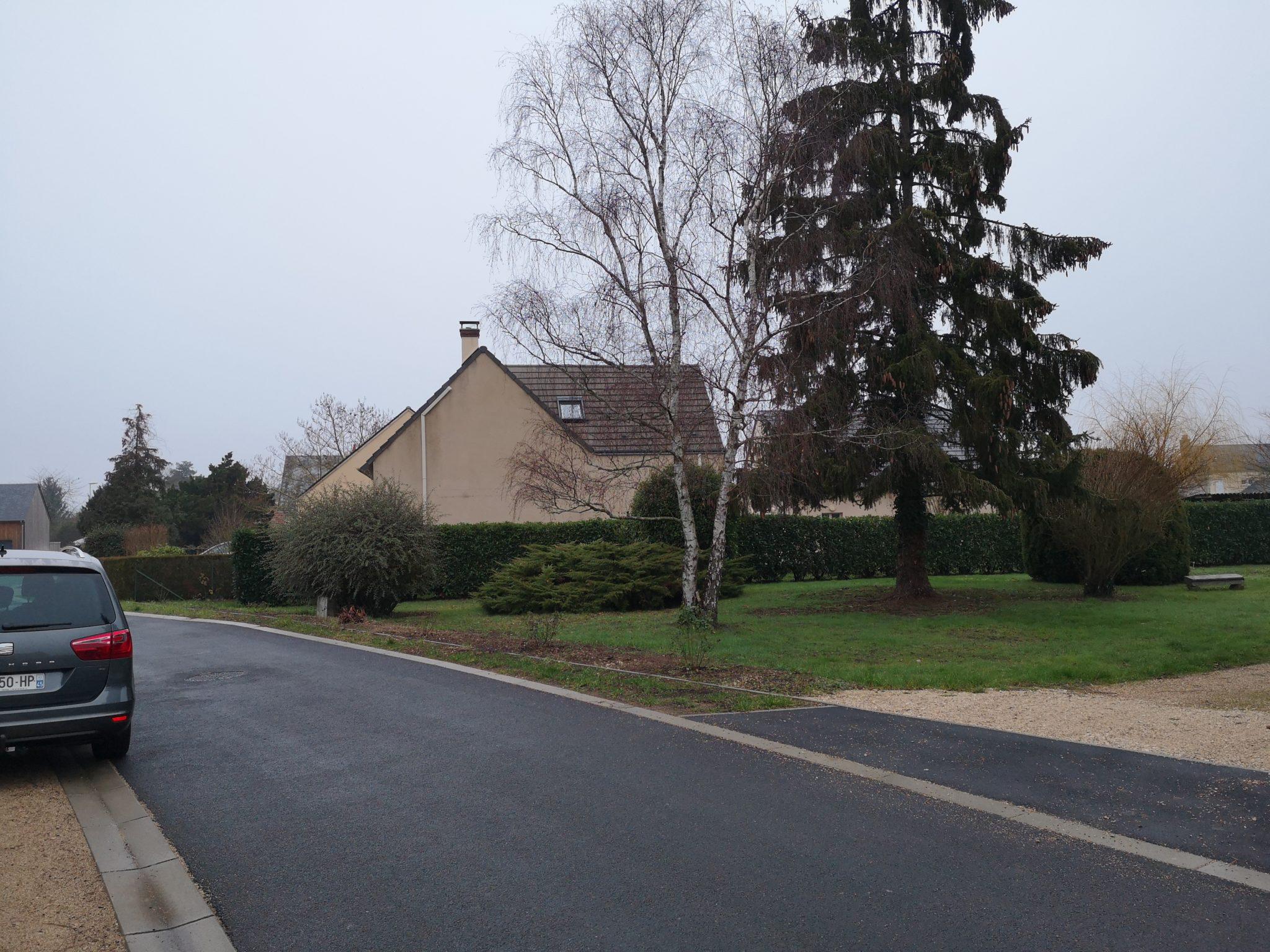 Le projet est situé sur la Rue de Caslin