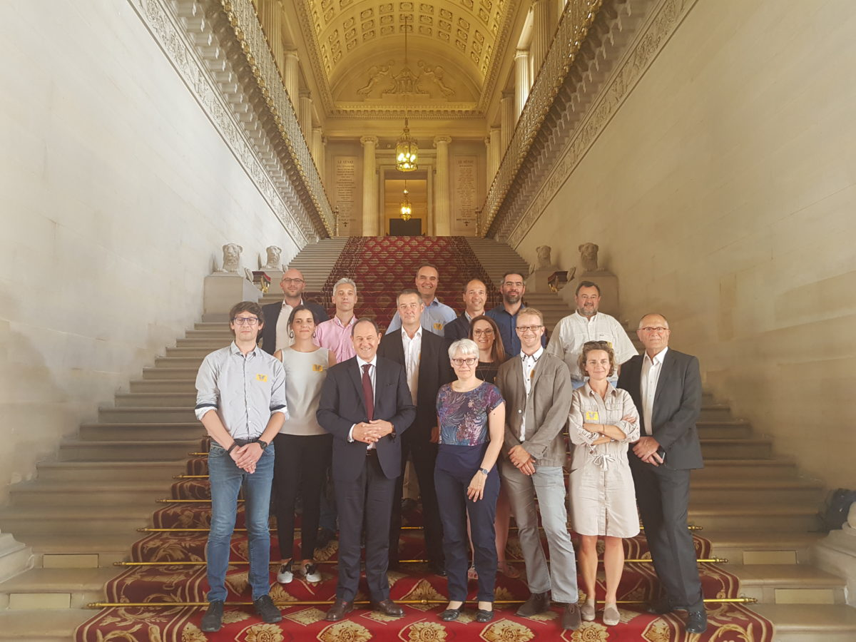 Pause culturelle <br> Visite du Sénat