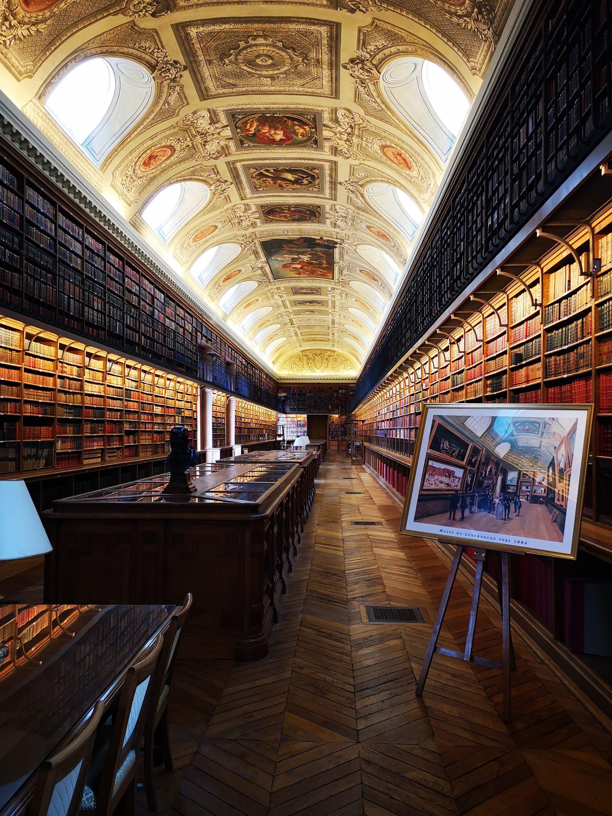 La magnifique salle annexe de la bibliothèque