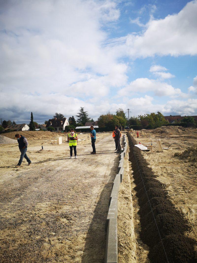 Avancement des chantiers <br> en cours