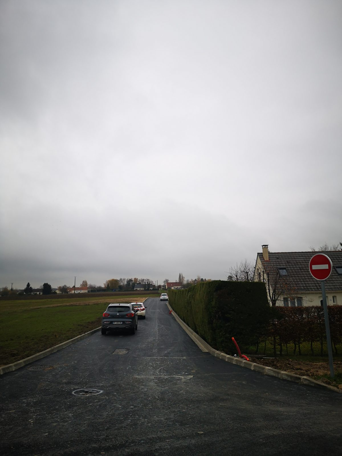 Réalisation des enrobés <br> au Hameau de Pigage