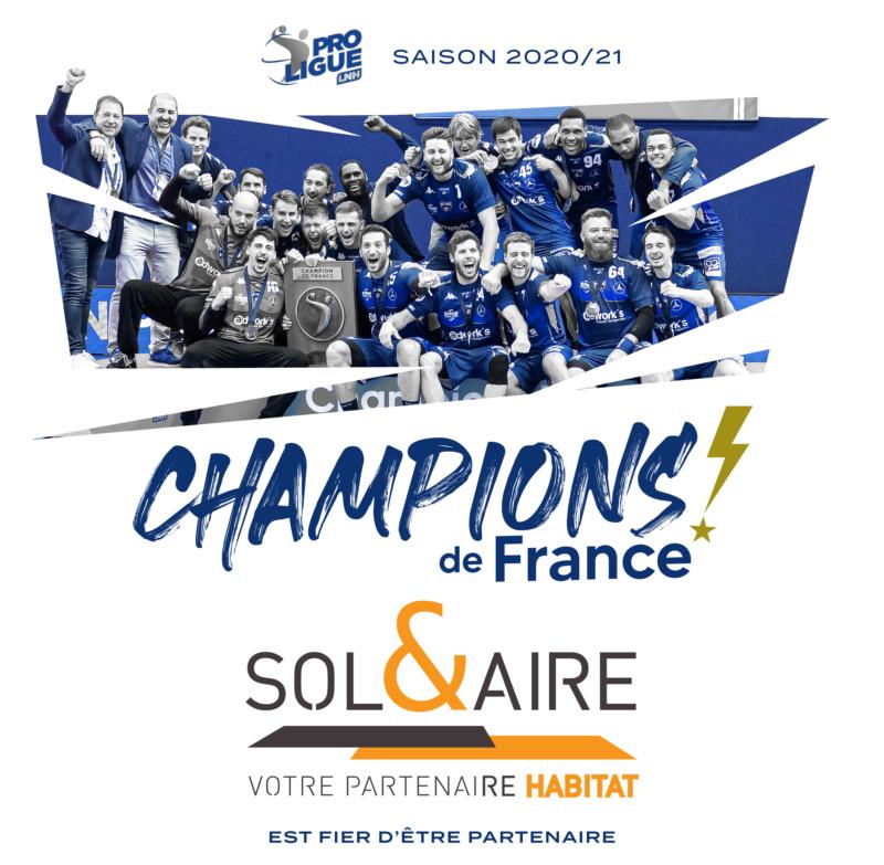 Le Saran Loiret Handball <br> au sommet !!